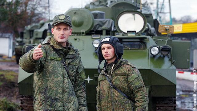 Размещенные в Калининградской области российские войска готовятся противостоять НАТО