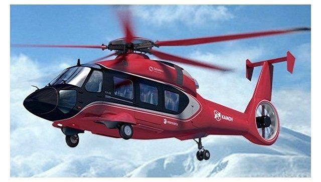 Разрабатываемый вертолет Ка-62. Архивное фото.