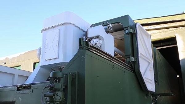 """Развертывание и подготовка к применению боевого лазерного комплекса """"Пересвет"""""""
