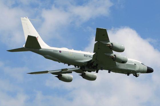 Разведывательный самолет Rivet Joint RC-135W