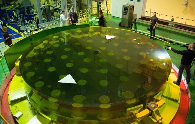 Реконструированное зеркало телескопа БТА
