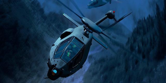 Рендер вертолёта Boeing FARA