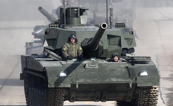 Репетиция Парада Победы