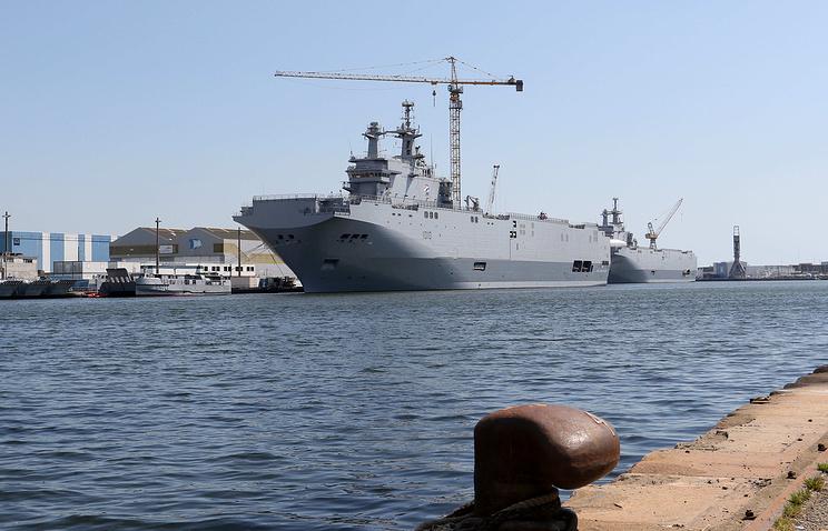 Десантный вертолетоносный корабль-док (ДВКД) Мистраль (Mistral)<br>
