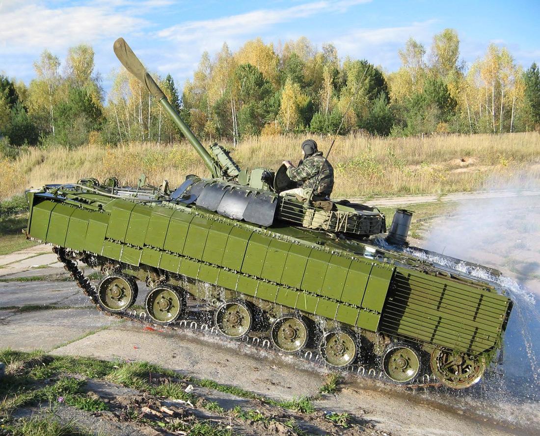 БМП-3 с ДЗ, разработанной в ОКР «Каркас-2».