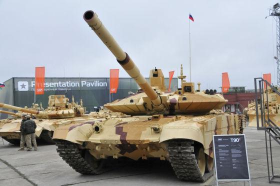 Т-90СМ с комплексом «Реликт».