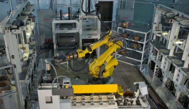 Робот для утилизации боеприпасов