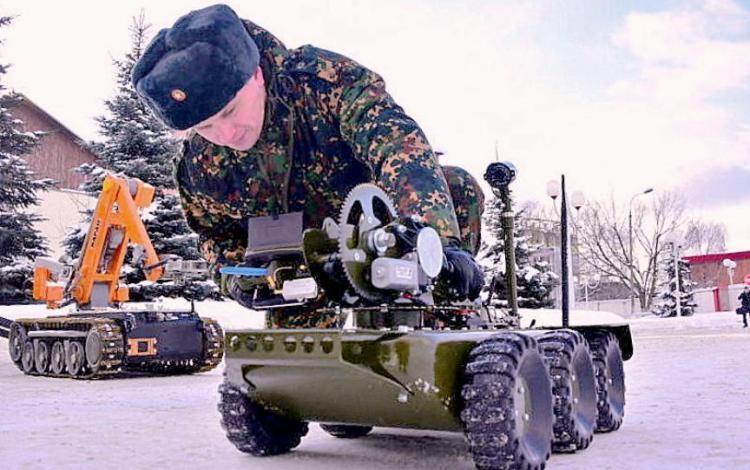 Подготовка робота КРММ-06 к работе.
