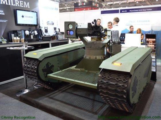 Робот Milrem