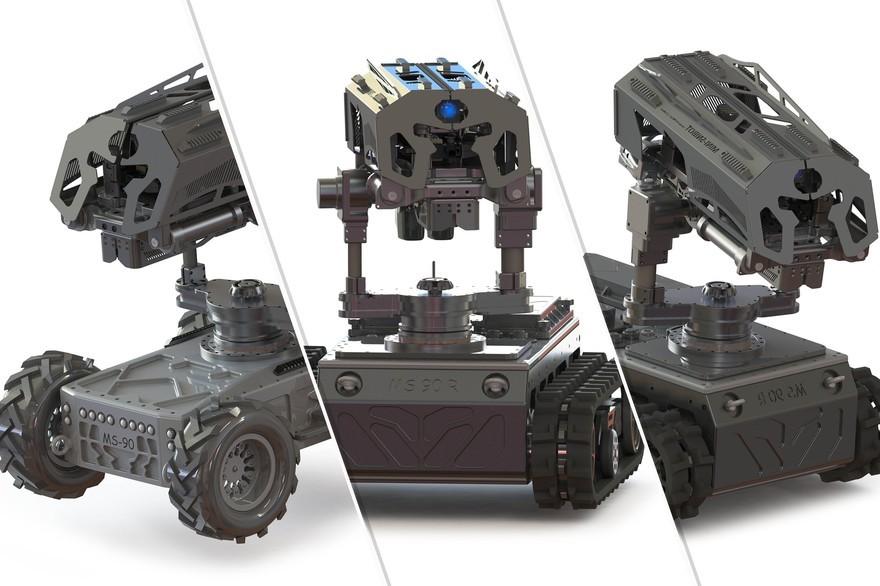 Робот Snibot.