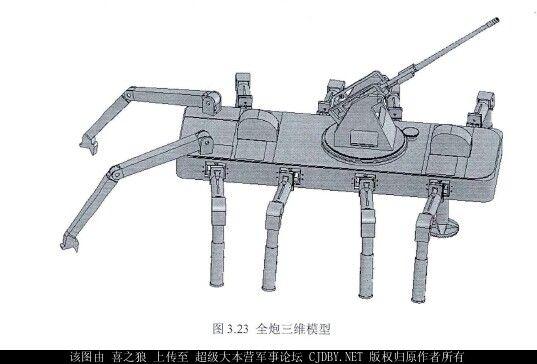 боевого наземного робота с