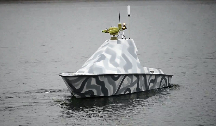 """""""Многоцелевой морской беспилотный комплекс"""", созданный под эгидой Делового клуба Шанхайской организации сотрудничества (ШОС)."""
