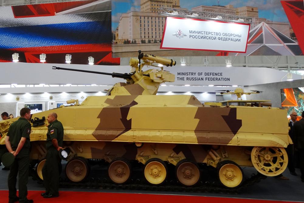 """Робототизированный комплекс """"Вихрь""""."""