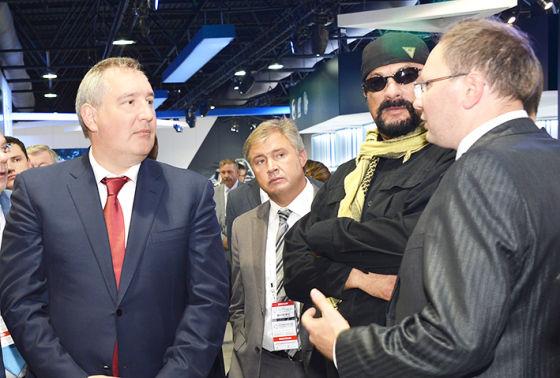 Д.Рогозин и С.Сигал на «Технологии в машиностроении-2014»