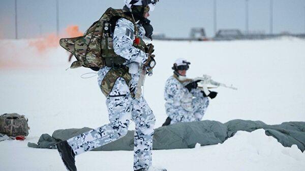 Эксперт рассказал о применении в Арктике маскирующего под снег материала