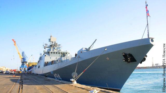 Российские корабли нуждаются в базе в Африке