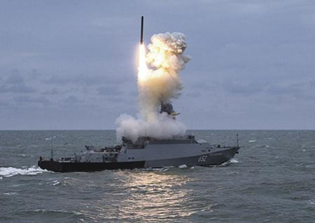 """Российские малые ракетные корабли типа """"Буян-М"""""""