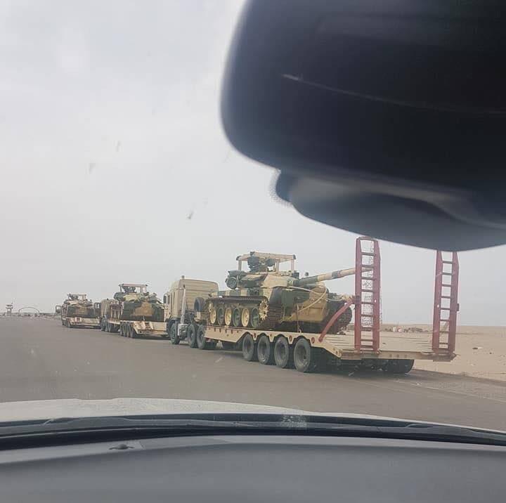 Танки Т-90С, Т-90СК в составе сухопутных войск Ирака.