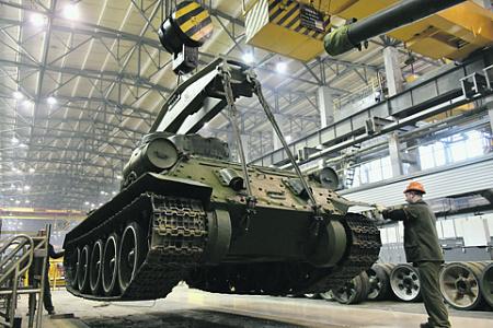 Российский ОПК не только создает новую технику, но и доводит до боеготовности исторические образцы вооружений. Фото со страницы «Уралвагонзавод» в «ВКонтакте»