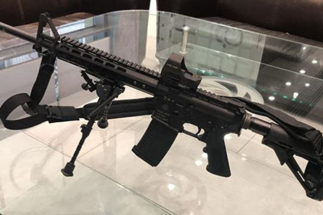 Российский вариант американской винтовки М16 комплектуется высокоточными стволами отечественного производства.