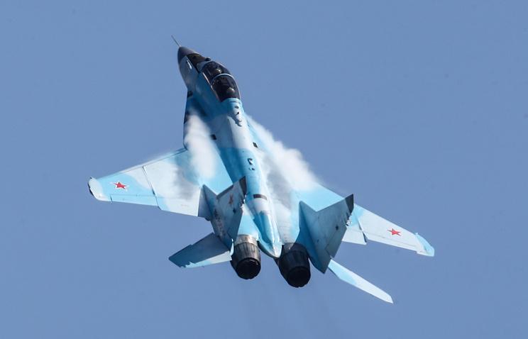 Российский многофункциональный легкий истребитель МиГ-35.