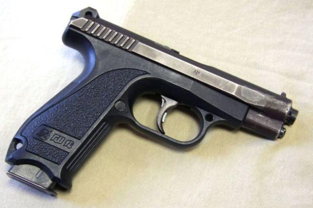 Российский пистолет ГШ-18