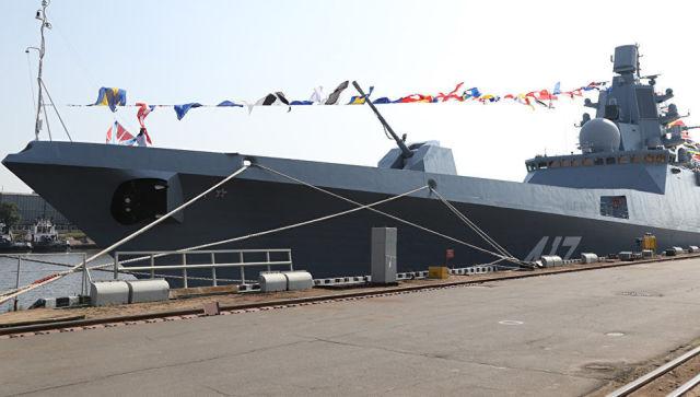 Российский сторожевой корабль Адмирал флота Касатонов. Архивное фото