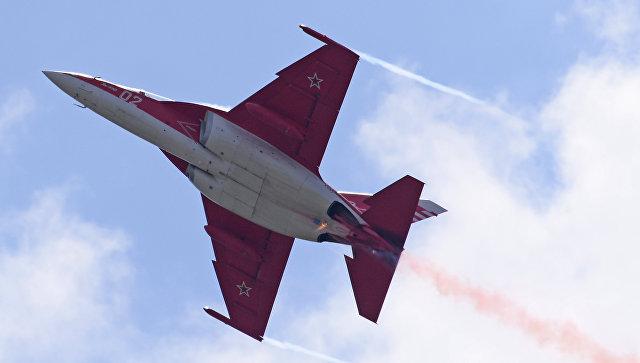 Российский учебно-боевой самолет Як-130. Архивное фото.