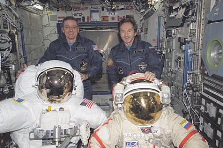 Российско-американское сотрудничество в освоении космического пространства может стать жертвой санкционной войны, начатой против Москвы. Фото с сайта www.nasa.gov