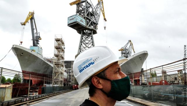 Российское судостроение показывает все большие успехи