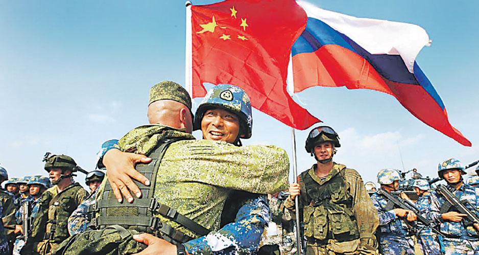 Российско-китайские учения.