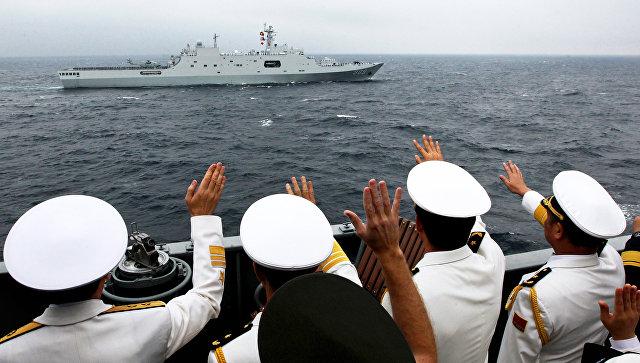 Российско-китайские учения Морское взаимодействие. Архивное фото.
