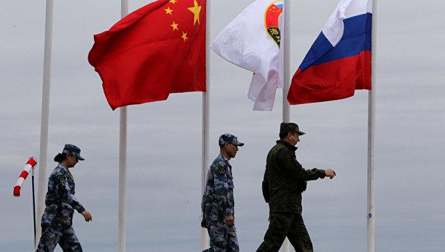 Российско-китайские военно-морские учения Морское взаимодействие. Архивное фото.