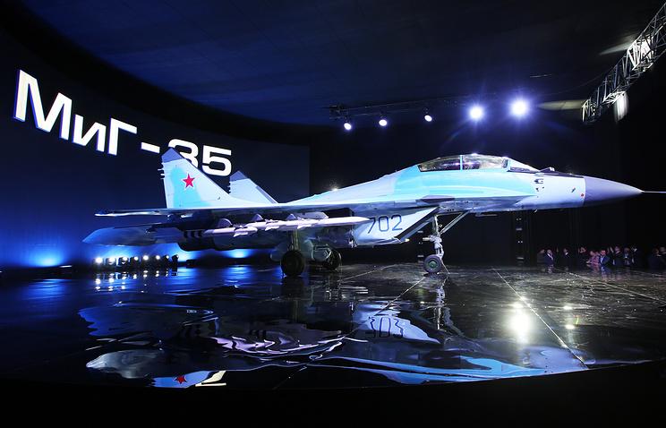 Многоцелевой истребитель МиГ-35.