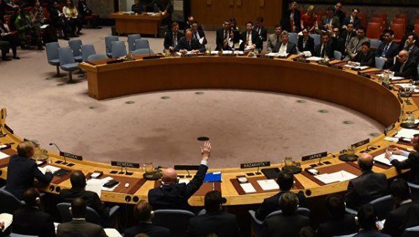 Россия заблокировала в Совете Безопасности ООН проект резолюции о продлении мандата миссии ООН и ОЗХО по расследованию химических атак в Сирии. 24 окт