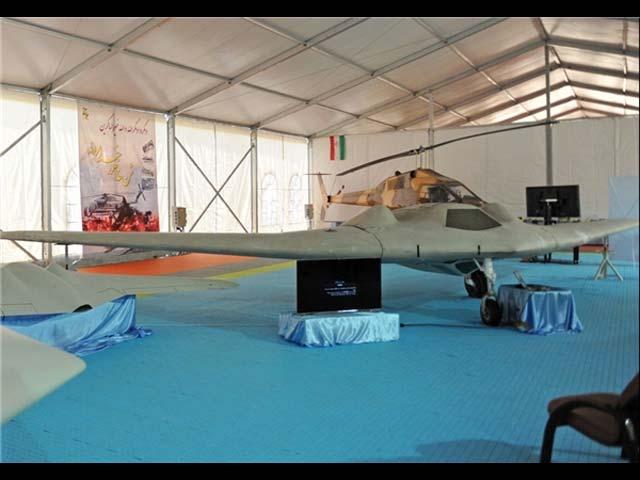 Американский БПЛА RQ-170, перехваченный иранцами в декабре 2011 года.