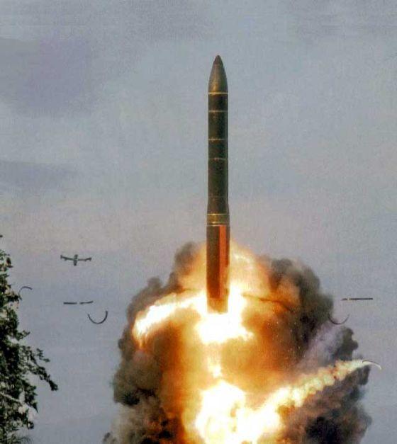 Пуск ракеты Тополь-М (РС-12М2)
