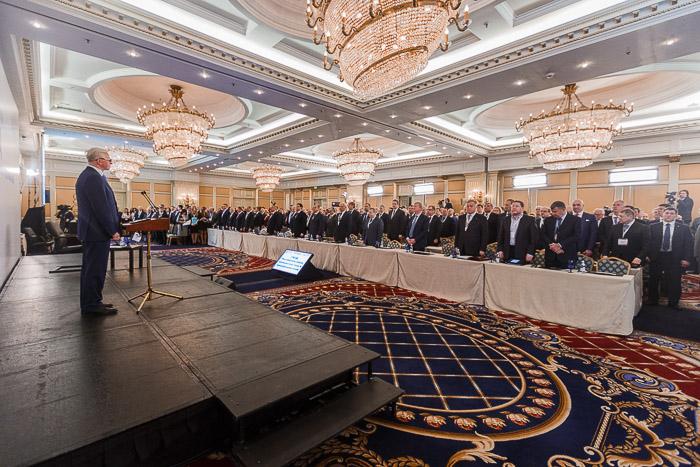 Выступление главы РСПП Александра Шохина на съезде РСПП.