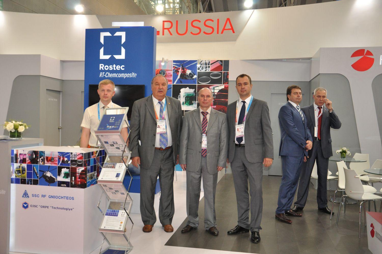 Представители «РТ-Химкомпозит» на Международной китайско-российской выставке «I-st Сhina-Russia Expo - 2014» в Харбине.