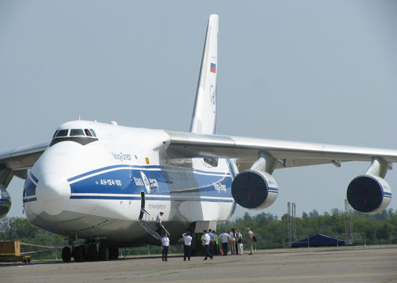 "Ан-124 ""Руслан"" на «МАТФ-2014»"