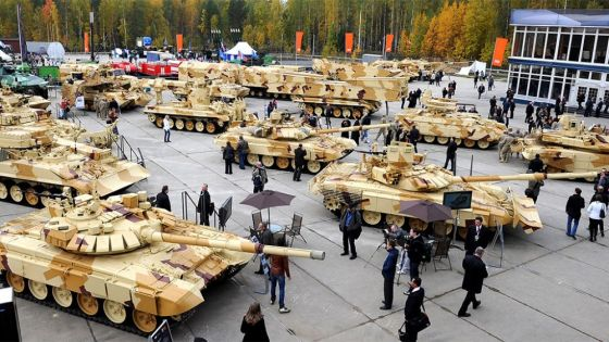 Russia Arms EXPO