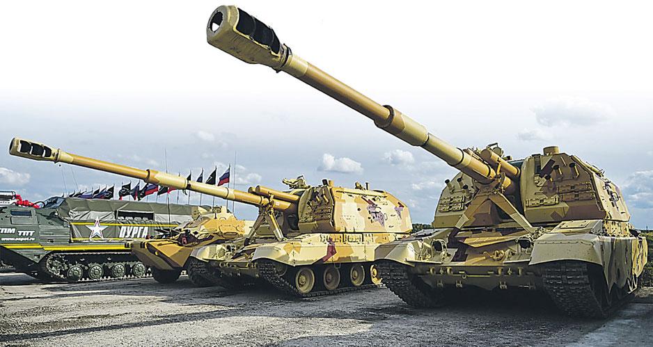 Выставка вооружений Russia Arms Expo-2017.