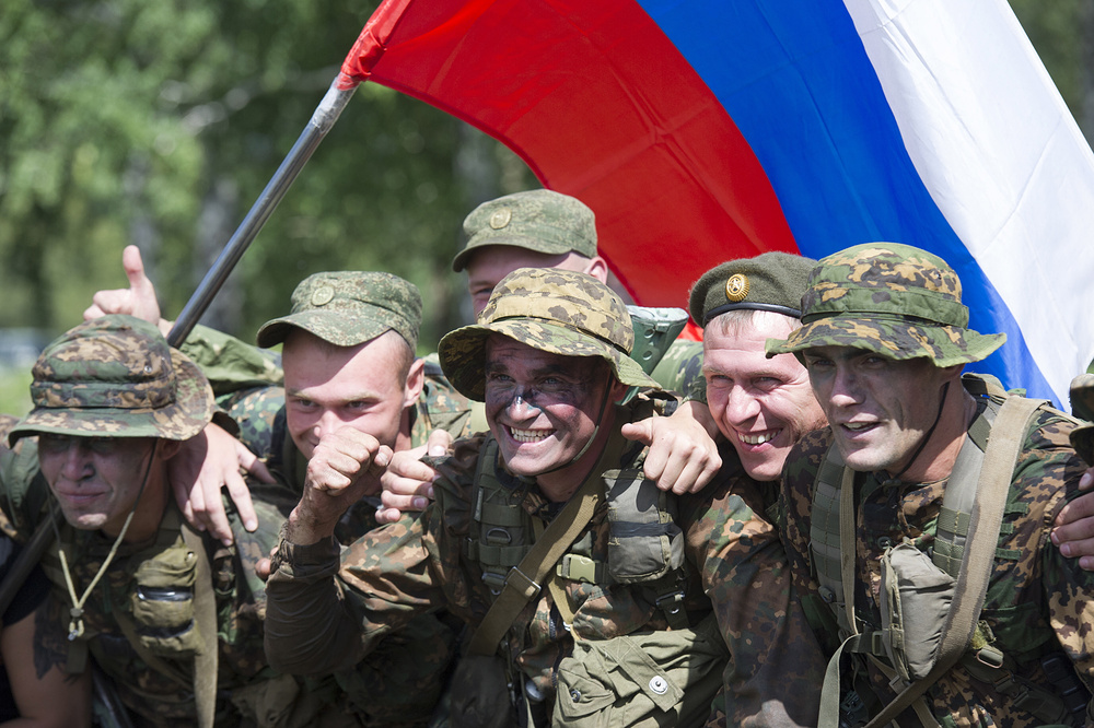 АрМИ-2016. Военнослужащие ВС РФ