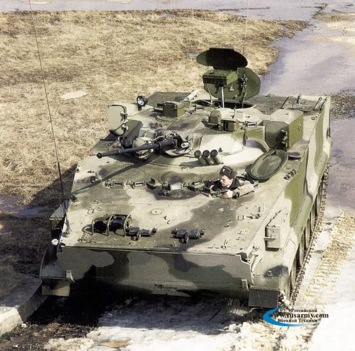 "Боевая разведывательная машина БРМ-3К ""Рысь""."