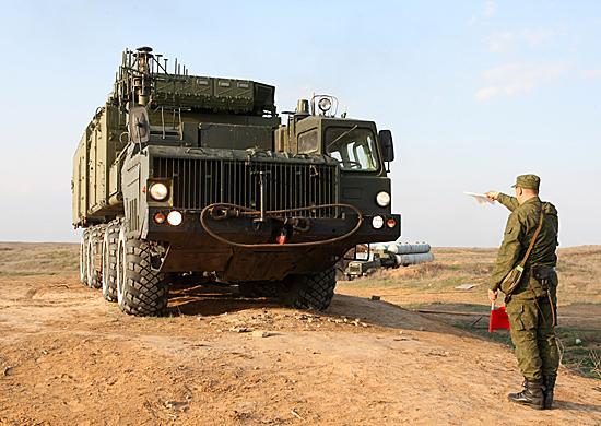 Комплекс ПВО С-300М на полигоне Ашулук