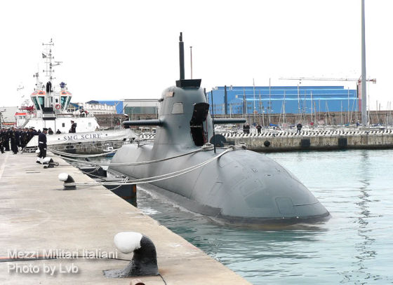 Итальянская подводная лодка S 527 Scire