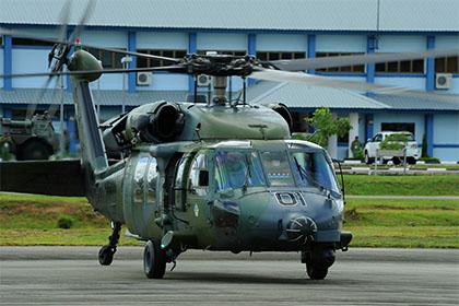 Вертолет S-70A ВВС Брунея.