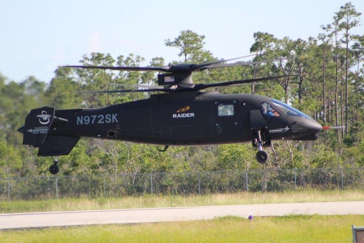 Sikorsky S-97 Raider готовится начать программу летных испытаний в Уэст-Палм-Бич, штат Флорида. (Фото: Sikorsky).