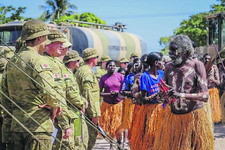 С момента обретения Зеленым континентом независимости на него не было совершено ни одного нападения, но Канберра с тех пор участвовала в десятках военных операций по всему миру. Фото с сайта www.defence.gov.au