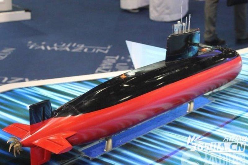 Модель китайскрй субмарины S20. Источник: Военное обозрение.